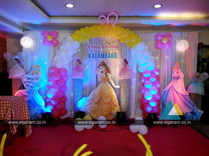 Birthday sigaram wedding decorators for Balloon decoration in chennai