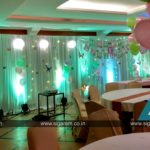 Butterflies Themed Birthday Decoration at Ashok Beach Resort, Pondicherry