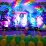 Jungle Themed Birthday Party Decoration @ Annamalai Hotel, Pondicherry