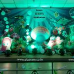 Ocean Themed Birthday Balloon decoration at Vadalur