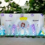 Outdoor Birthday party decoration at Hotel Bonsejour, Pondicherry
