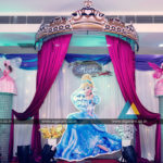 Cinderella Princess Themed Birthday Party Balloon Decoration at Chromepet, Chennai