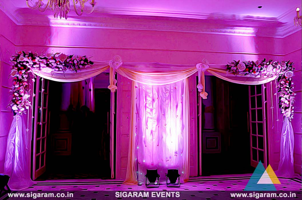 Wedding and reception door entrance decorations in pondicherry wedding reception entrance door decoration ideas junglespirit Choice Image