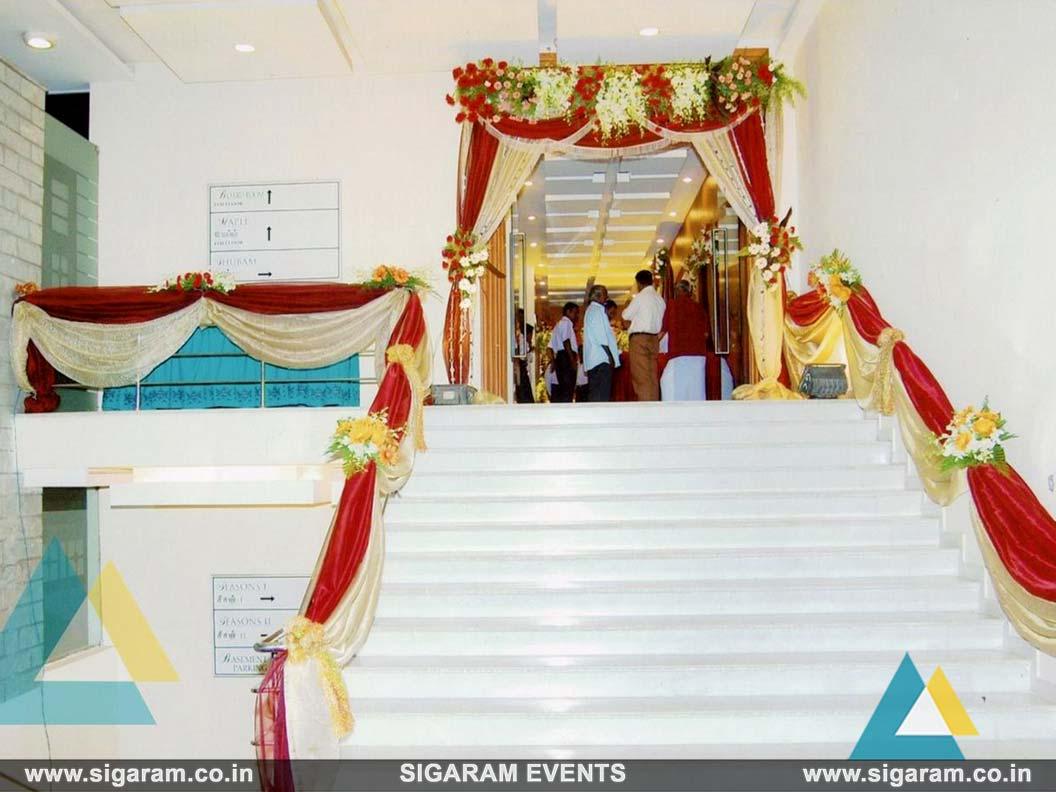 Wedding \u0026 Reception Entrance Door Decoration Ideas  sc 1 st  Sigaram Wedding Decorators in Pondicherry & Wedding and Reception Door Entrance Decorations in Pondicherry ...