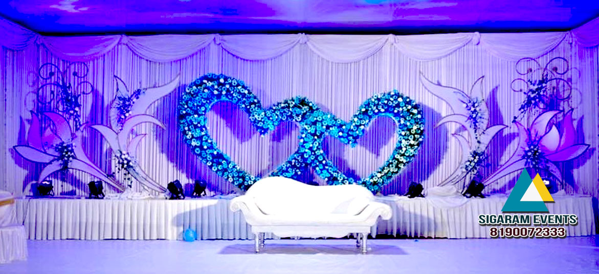Flower Decoration For Wedding Reception