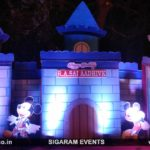 Castle theme Birthday party outdoor Decoration at Auroville, Pondicherry