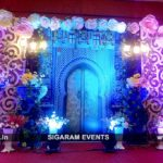 Engagement, Mehandi Stall, Photo booth Decoration at Grand Serenaa Hotel, Pondicherry