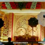 Golden Mandap Style decoration at Vijay Mahal, Thirukkanur, Pondicherry