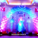 Princess Cinderella Theme Birthday decoration at Atithi Hotel, Pondicherry