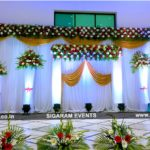 Church Wedding and Reception decoration at Logalakshmi Mahal, Villupuram
