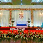 Reception decoration with Rose flowers at Reddiyar mandapam, Cuddalore
