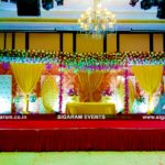 Wedding and Reception Stage Decoration at Anandha Inn, Pondicherry