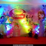 Birthday decoration at Bon Sejour Hotel, Pondicherry