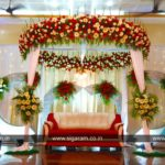 Reception and Wedding decoration at Anandha Thirumana Nilayam, Puducherry