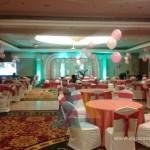 Helium Balloons on Round Tables @ Accord Hotel Pondicherry