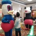 2 Cartoon Characters for Birthday Decoration @ Accord Hotel, Pondicherry