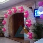 Entrance Balloon Arch @ Accord Hotel, Pondicherry 2