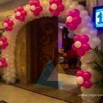 Entrance Balloon Arch @ Accord Hotel, Pondicherry 1