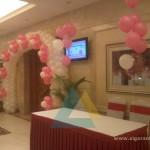 Entrance Balloon Arch @ Accord Hotel, Pondicherry