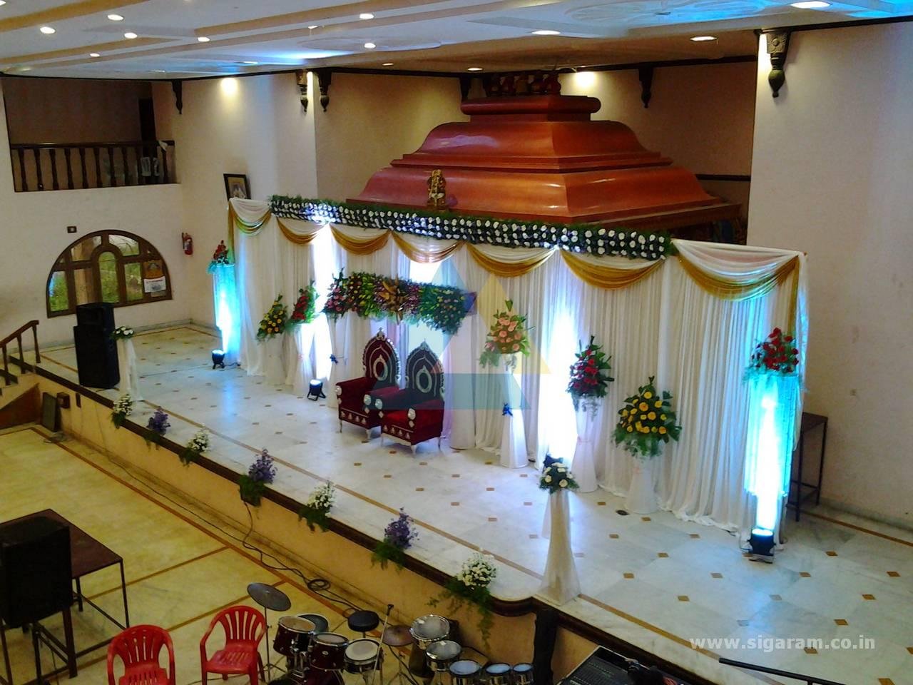 Manivannan mane reception decoration 313 event for Wedding planner decoration