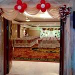 Entrance Decoration at Accord Hotel Pondicherry
