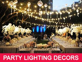 Party Lighting Decorators in Pondicherry