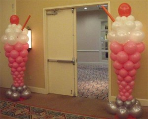 Entrance Cone Balloon Decoration