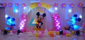 Micky Mouse Themed Birthday Decoration
