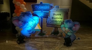 Entrance Welcome decoration for Birthday Parties