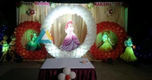 Cindrella Themed Birthday Decoration