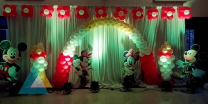 Mickey Mouse themed Birthday Party Decoration
