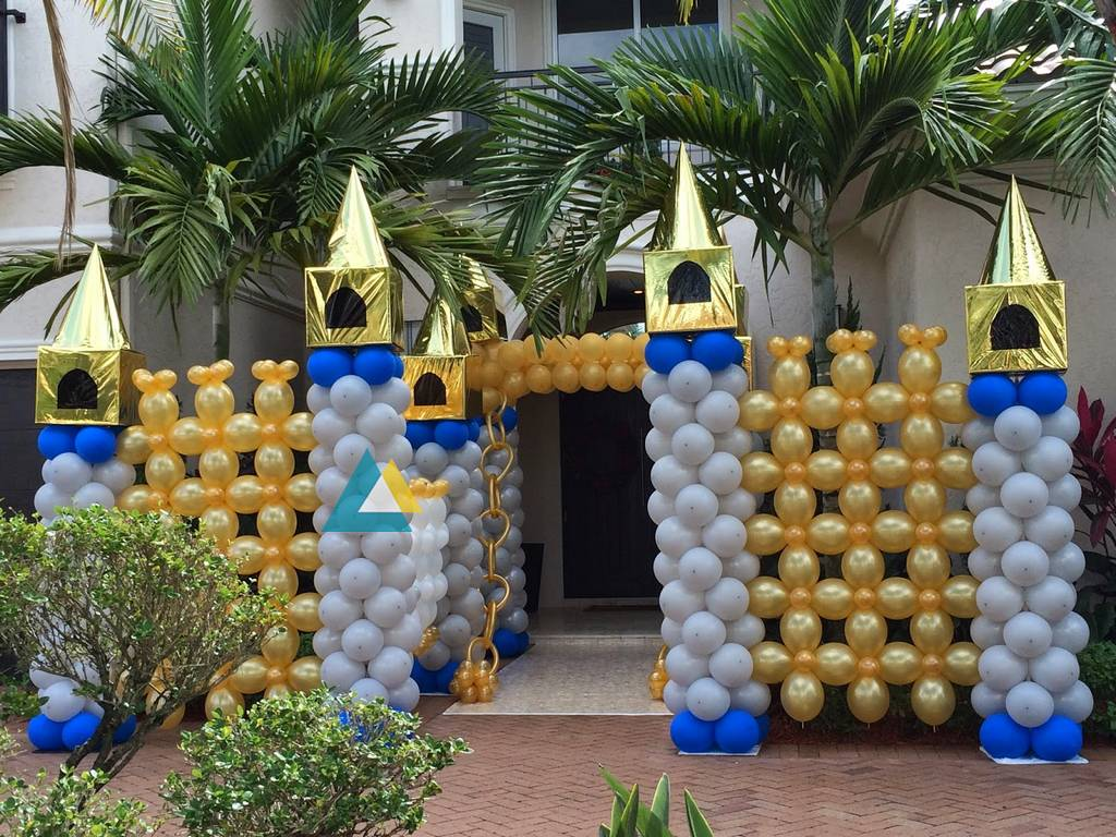 birthday party entrance decorations in pondicherry. Black Bedroom Furniture Sets. Home Design Ideas