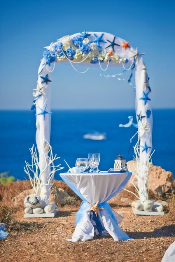 Best beach wedding planners in pondicherry chennai for Arch decoration for wedding