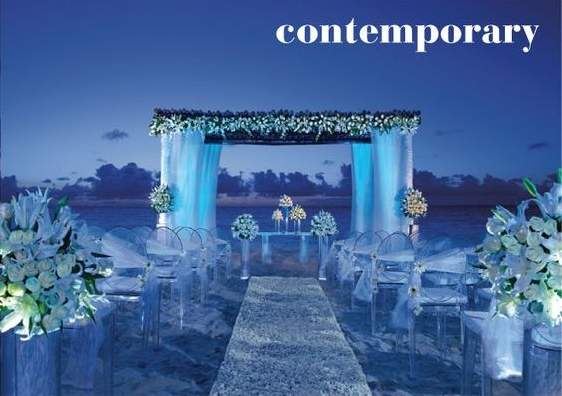 Contemporary Beach Weddings