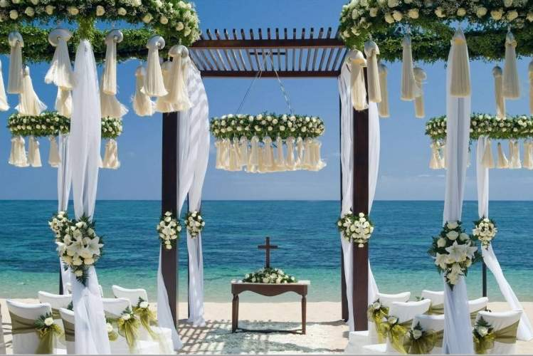 Lavish Beach Weddings