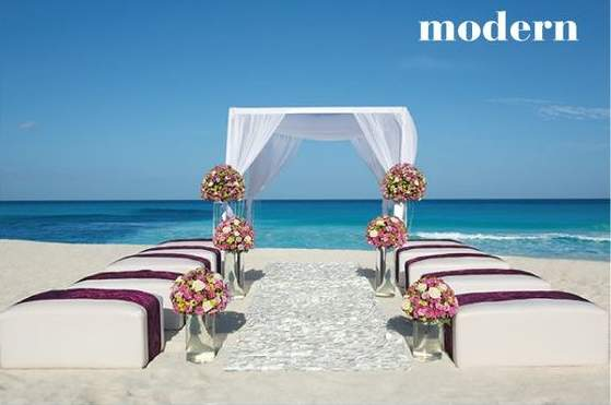 Modern Beach Weddings