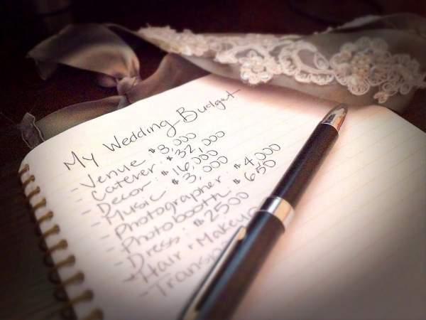 Wedding Budget Preparation