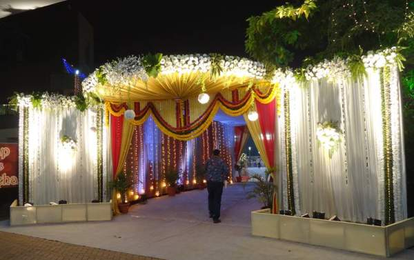 Indian Wedding Entrance Decorations