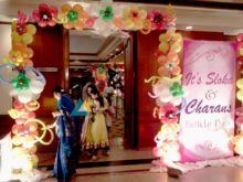 Colorful Balloon Entrance Decoration
