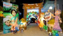 Themed Birthday Entrance Decoration