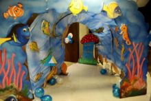 Cave Themed Birthday Decoration