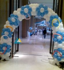 Simple Balloon Entrance Decoration