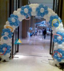 Simple Balloon Entrance Decoration