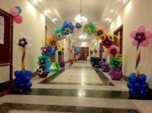 Pathway and Entrance Decoration for Birthday parties
