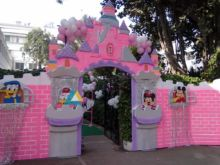 Themed Entrance decoration for Birthday