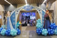 Themed Birthday Party Entrance Decoration