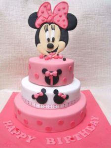 Mickey Mouse themed Birthday Cake Decorations in Pondicherry