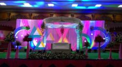 Wedding decoration at AVN Mahal Chengalpattu