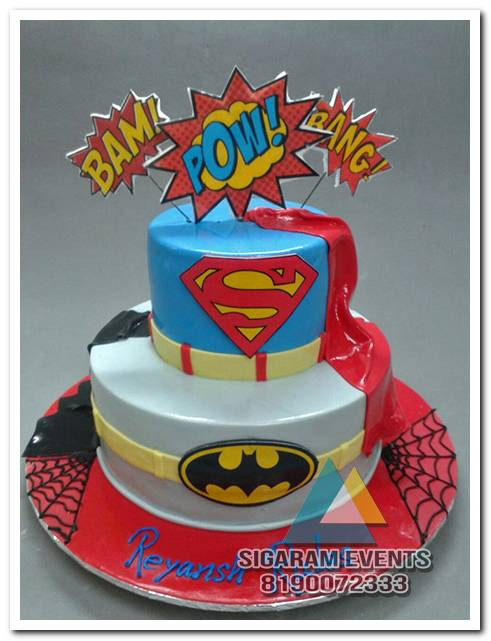 Marvelous Themed Birthday Cake And Table Decorations In Pondicherry Funny Birthday Cards Online Kookostrdamsfinfo