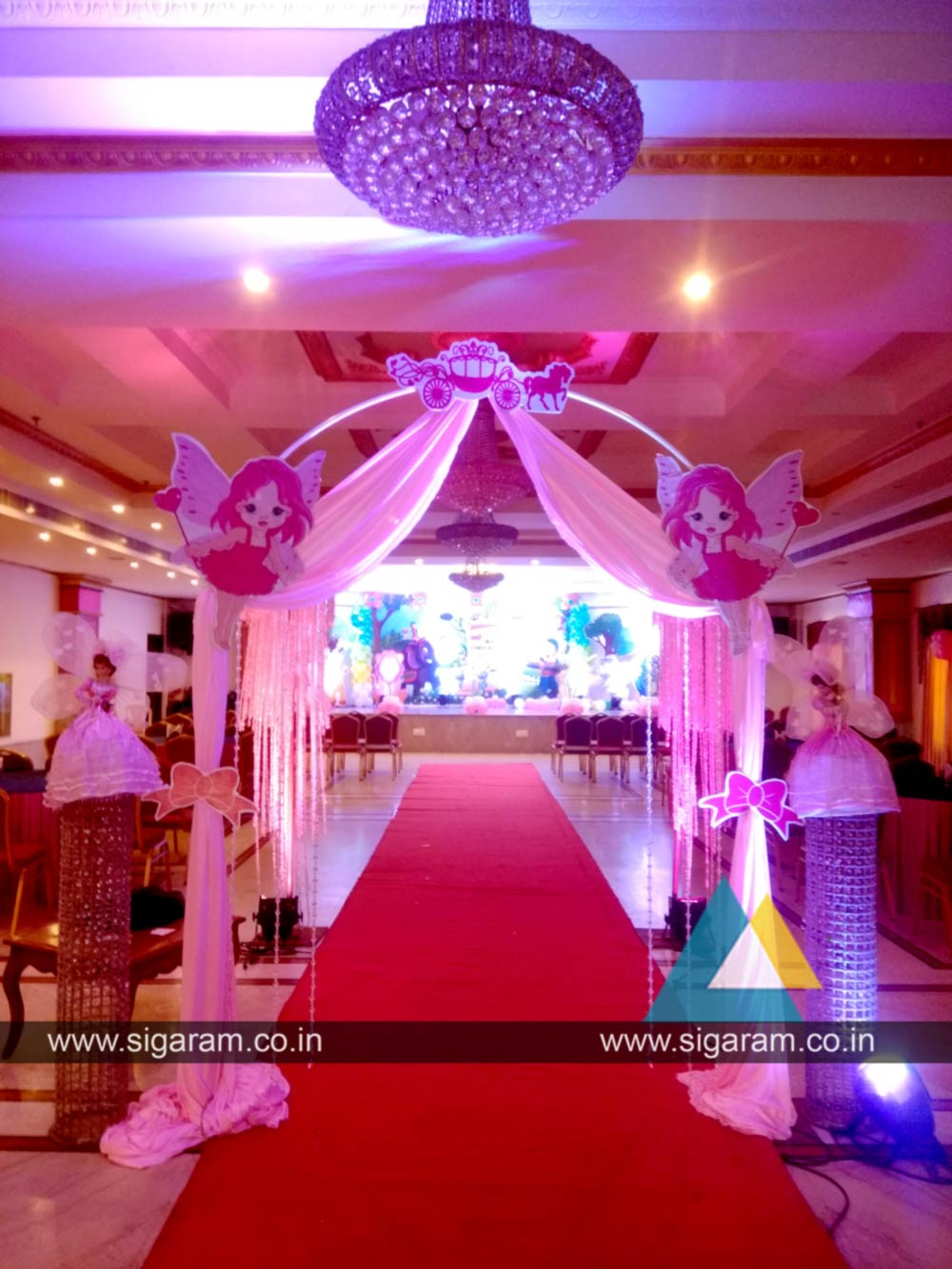 Kanmani Rhymes Theme Birthday Party Decoration At Le Royal